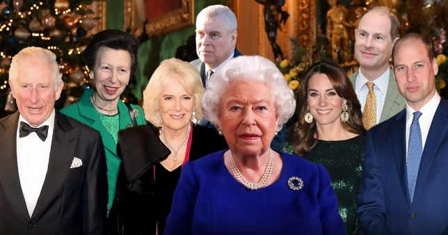 Queen's Christmas bubble 'revealed'