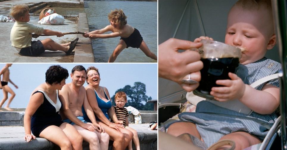 Nostalgic photos of British summer holidays Lee Shulman