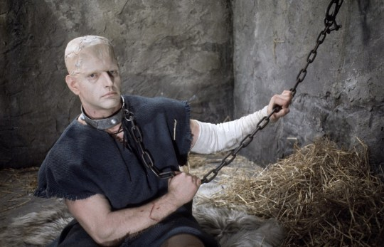 David Prowse as Frankenstein