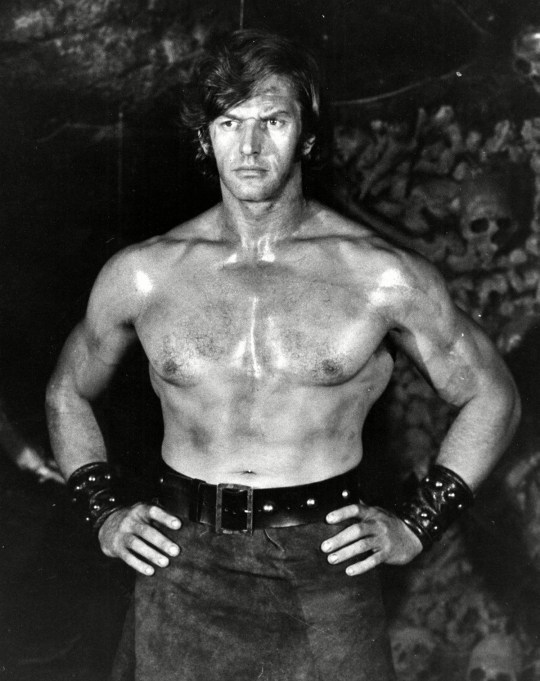 David Prowse weightlifting