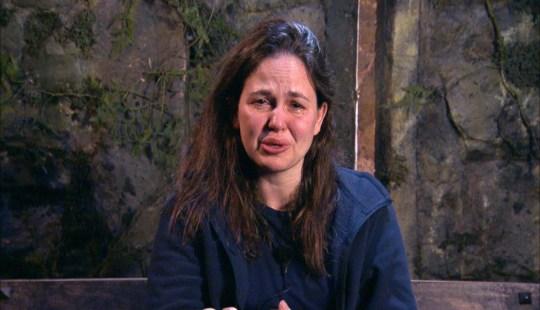 Giovanna Fletcher in tears