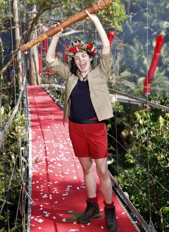 Scarlett Moffatt wins I'm A Celebrity
