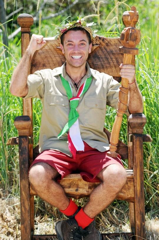 Gino D'ACampo wins I'm A Celebrity
