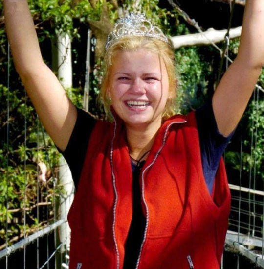 KERRY KATONA wins I'm A Celebrity