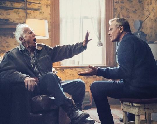 Lance Henriksen and Viggo Mortensen