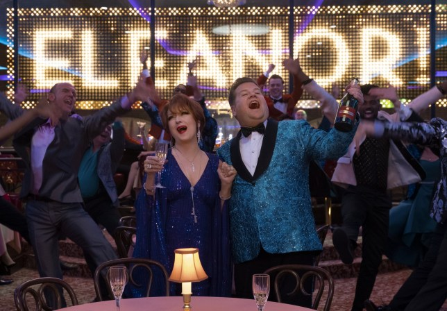 Meryl Streep and James Corden star in Netflix's The Prom