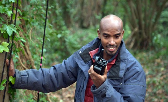 Sir Mo Farah on I'm A Celebrity