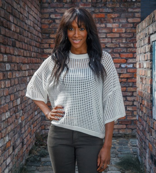 Television programme : Coronation Street ? Angie (Victoria Ekanoye) Copyright: Mark Bruce / ITV