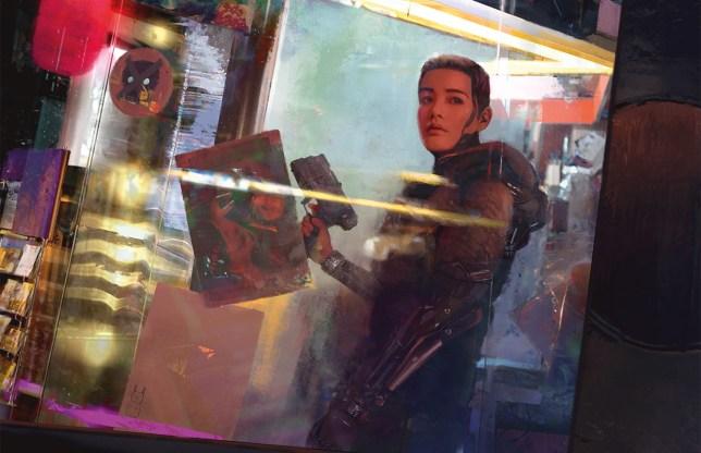Cyberpunk Red artwork