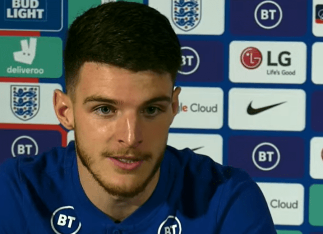 Declan Rice has urged England fans to value the contribution of his team-mate Mason Mount