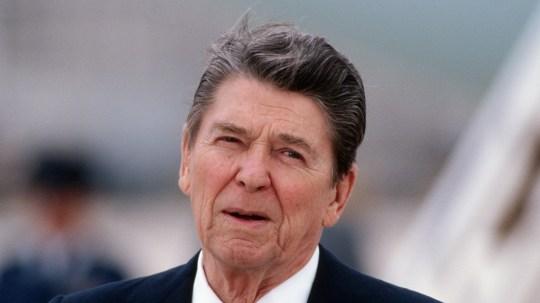 ronald reagan, the 40th US president
