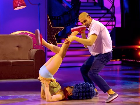 Strictly 2020: Max George and Dianne Buswell's bonkers The Simpsons routine goes viral – but did you love or hate it?