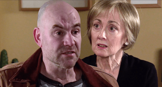 Tim and Elaine in Coronation Street