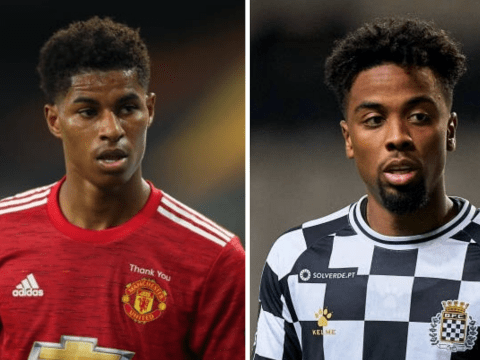 Manchester United forward Marcus Rashford reveals he hopes to play with Angel Gomes again