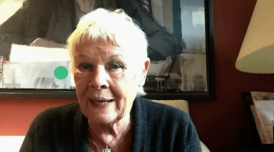 Dame Judi Dench speaking on The Andrew Marr Show