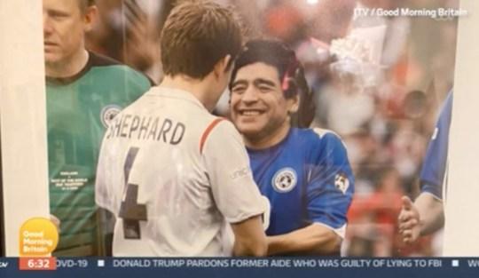 Maradona and Ben sHEPHarD