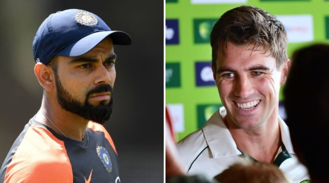 Pat Cummins has discussed Virat Kohli's absence for the Australia v India series