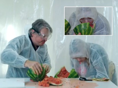 Daisy May Cooper leaves fans both 'horrified and mesmerised' as she devours watermelon on Taskmaster