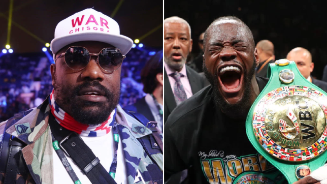 Dereck Chisora reveals Deontay Wilder text message after Tyson Fury cheat claims