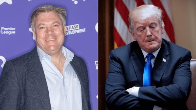 Ed Balls and Trump