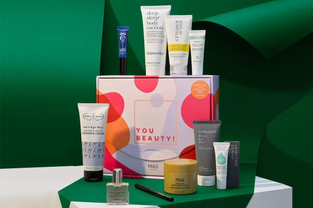 The M&S Christmas beauty box