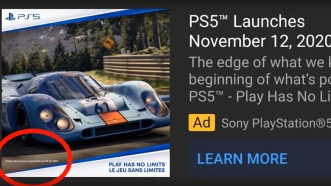 Gran Turismo 7 ad