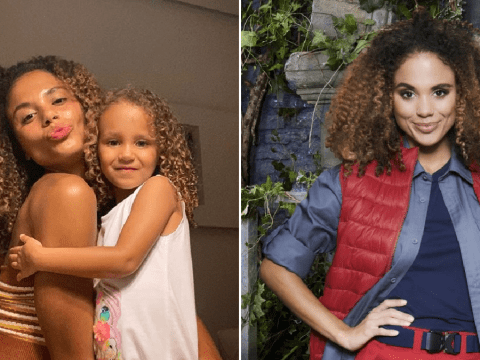 I'm A Celebrity 2020: Jessica Plummer records weeks of sweet messages for daughter while she's in castle