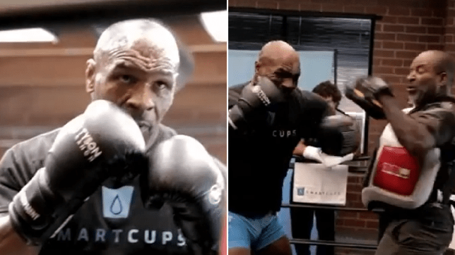 Mike Tyson 'knocking out teeth' in sparring ahead of Roy Jones Jr fight