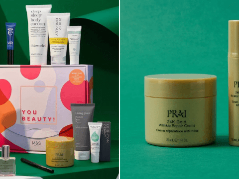 M&S is giving away over £116 worth of beauty products for £20