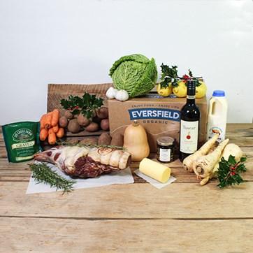 Eversfield Lamb Christmas dinner box