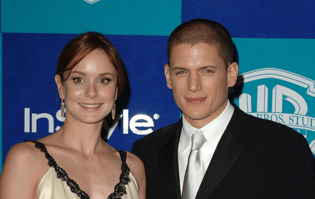 Sarah Wayne Callies and Wentworth Miller