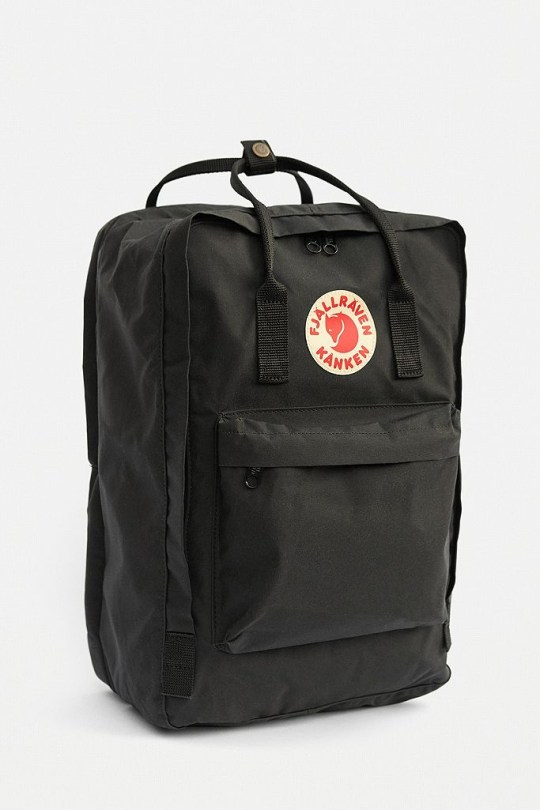 Fjallraven Kanken grey laptop bag