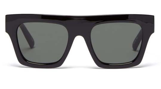 Le Specs sunglasses with wide black frame
