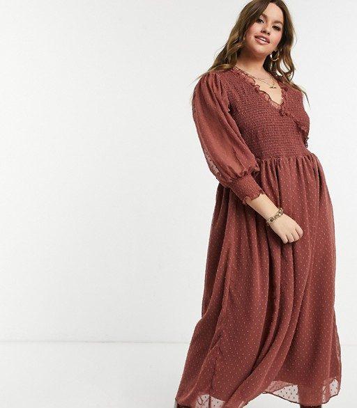 Rose midi dress from ASOS