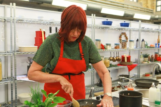 Janet Street Porter on Celebrity Masterchef Christmas cook off