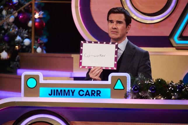 Jimmy Carr on Blankety Blank