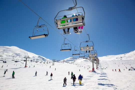 Andalucia is home to Europe's most southerly ski resort, high up in the Sierra Nevada mountains (Picture: Andalucia.org)