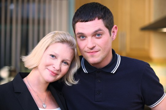 JOANNA PAGE AND MATHEW HORNE in Gavin and Stacey