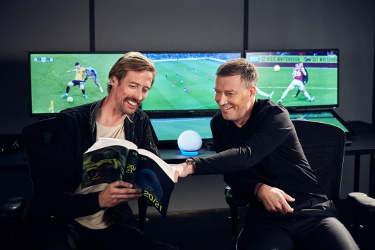 Prime Video pundits, Mark Clattenburg and Peter Crouch, testing VARlexa - the world's first Voice Assistant Referee - the latest feature from Amazon's Alexa