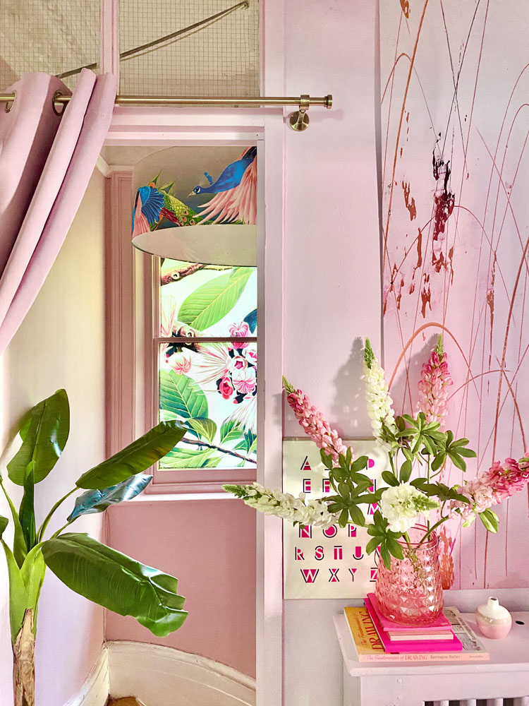What I Rent: Anna, Crystal Palace -  pink hallway
