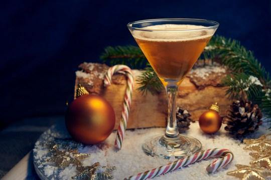 a brandy cocktail