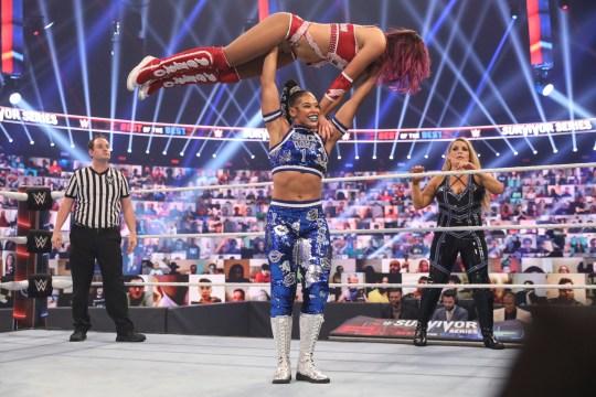 WWE superstar Bianca Belair