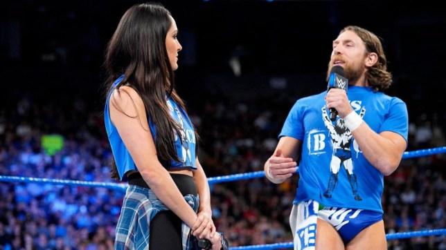 WWE superstars Brie Bella and Daniel Bryan