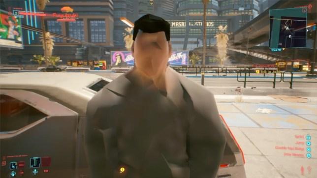 What Cyberpunk 2077 looks like on console.