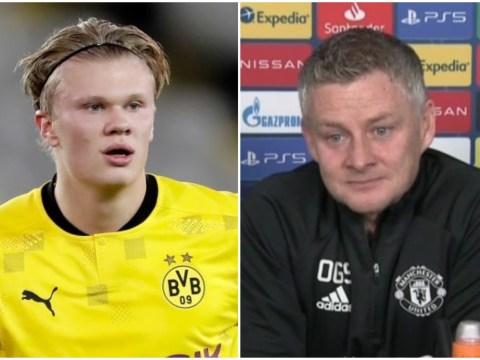Mino Raiola fires dig at Manchester United boss Ole Gunnar Solskjaer over Erling Haaland