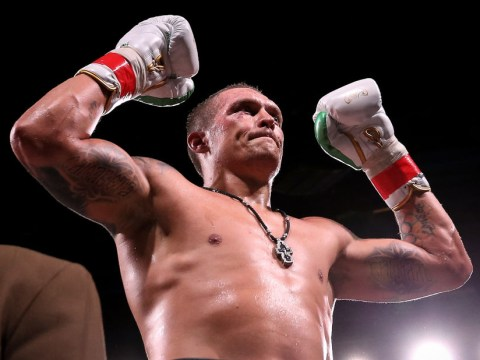 Anthony Joshua vs Tyson Fury boost as Oleksandr Usyk fancies Deontay Wilder fight