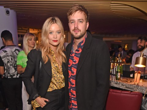 When did Laura Whitmore and Iain Stirling start dating, are they married, and is Laura pregnant?
