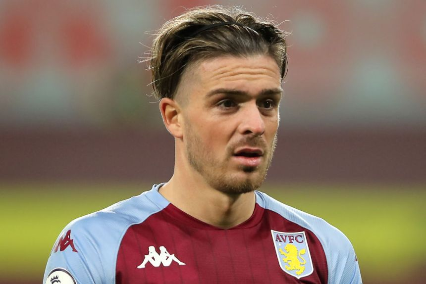 Jack Grealish has missed Aston Villa's clash with Leicester City due to injury