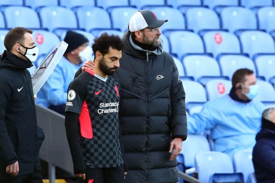 Mohamed Salah comes off the bench in Liverpool's win over Crystal Palace