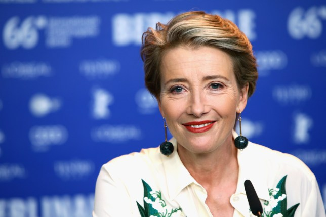 Dame Emma Thompson at the 'Alone in Berlin' Press Conference - 66th Berlinale International Film Festival